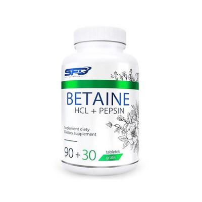 Betaina HCL + pepsina