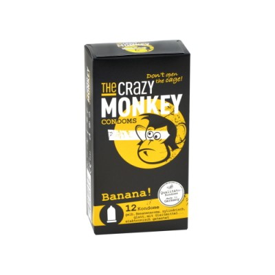 Preservativi THE CRAZY MONKEY Banana