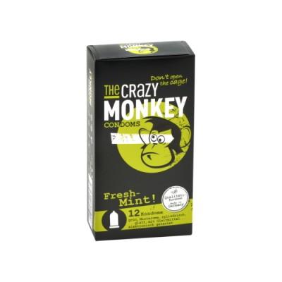 Preservativi THE CRAZY MONKEY Fresh Mint