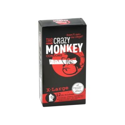 Preservativi THE CRAZY MONKEY X-large