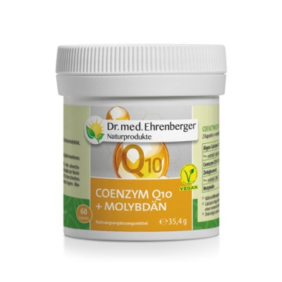 Coenzima Q10 idrosolubile + Molibdeno