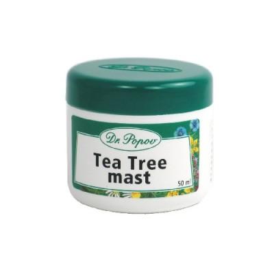 Crema all'olio dell'albero del tè