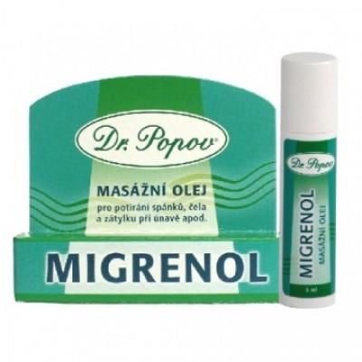 Migrenol roll-on olio da massaggio