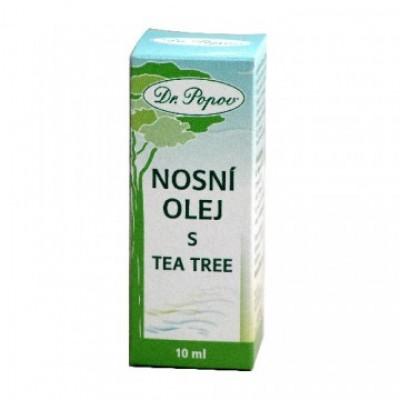 Olio per naso dall'albero del tè