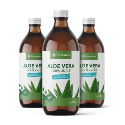 Aloe Vera succo 500 ml