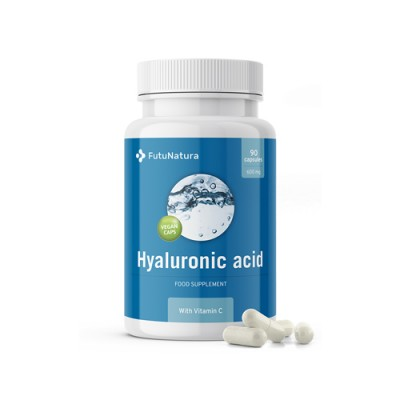 Acido ialuronico 600 mg + vitamina C