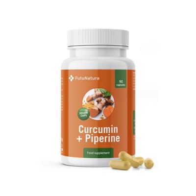 Curcumina + piperina 500 mg