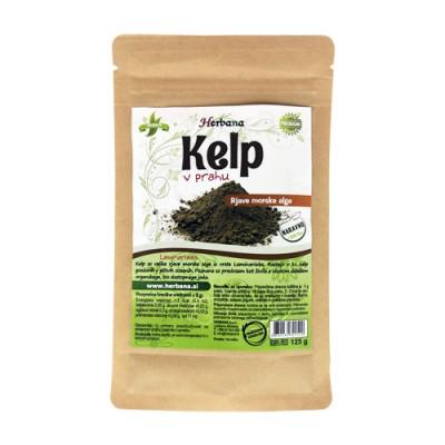 Kelp in polvere