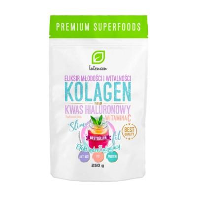 Collagene + Vitamina C + acido ialuronico
