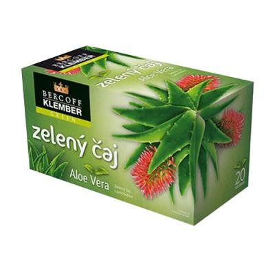 Tè verde con aloe vera