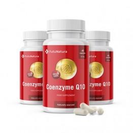 3x Coenzima Q10, totale 135 capsule