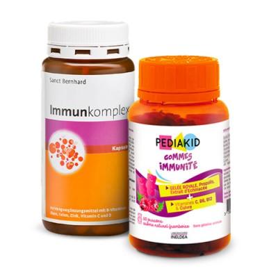 resistenza immunitario per bambini e adulti