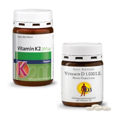Vitamian K2 + D3