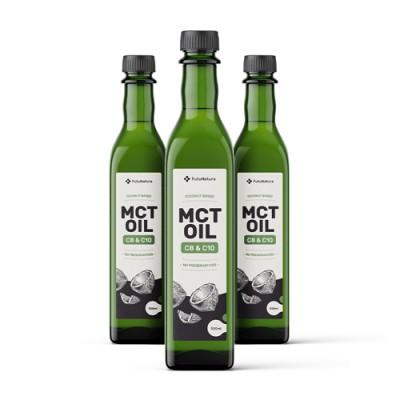 100% Olio di cocco MCT