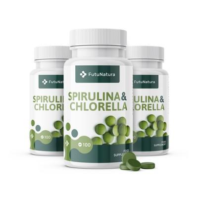Alghe Spirulina e Chlorella