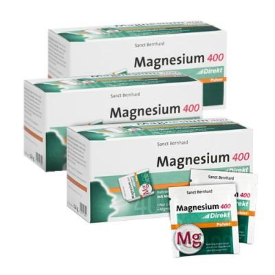 3x Magnesio 400 mg