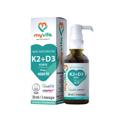 Vitamina K2 + D3 in gocce
