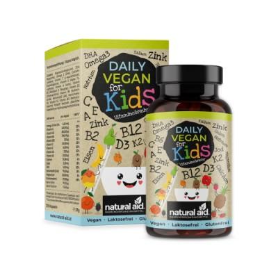 Vitamine e minerali vegani per bambini