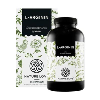 L-arginina capsule