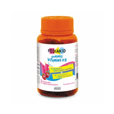 Vitamina D3 per bambini, 60 orsetti gommosi