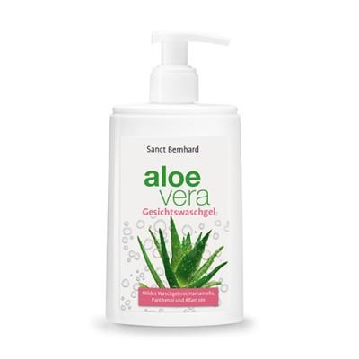 Gel detergente viso all'Aloe Vera
