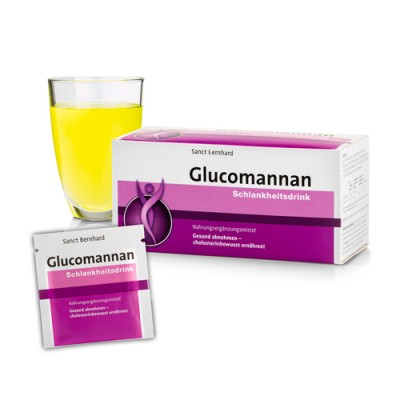 Bevanda snellente al glucomannano