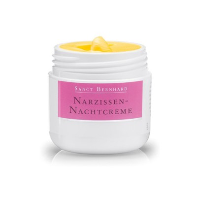 Crema notte con fiore di narciso