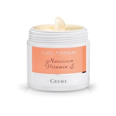 Crema per la pelle matura - Vitamina E + estratto di narciso