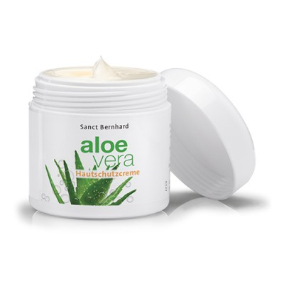 Crema protettiva per la pelle all'Aloe Vera