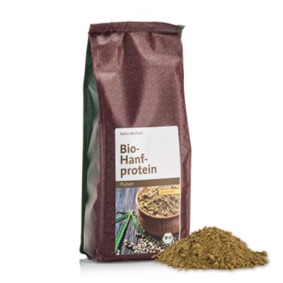 Proteine di canapa BIO
