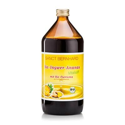 Succo di zenzero e ananas BIO