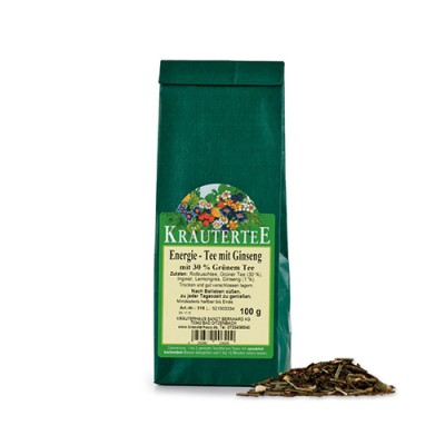 Tè energizzante al Ginseng, 100 g