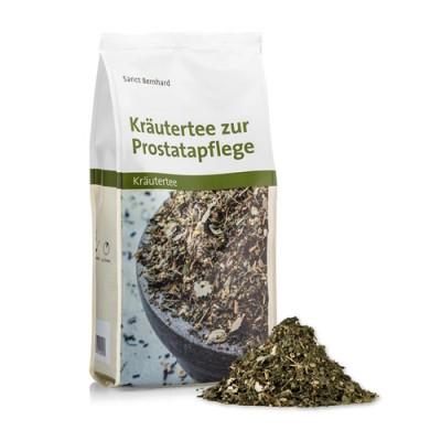 Tè alle erbe per la cura della prostata