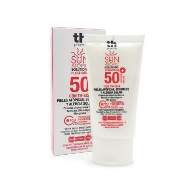 Crema solare per bambini per la pelle atopica del viso SPF 50+