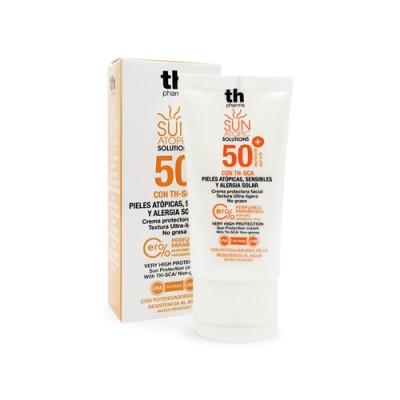 Crema solare per la pelle atopica del viso SPF 50+