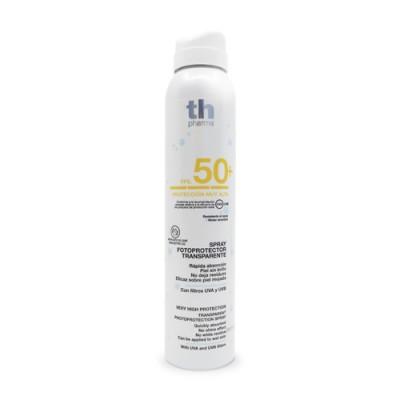 Spray solare trasparente SPF 50+