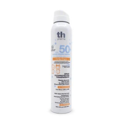Spray solare trasparente per bambini SPF 50+, 250 ml
