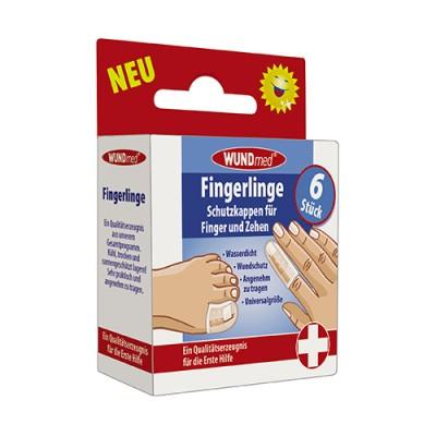 Ditali protettivi per dita delle mani e dei piedi, 6 pezzi