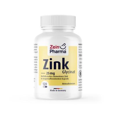 Chelato di zinco, 120 capsule