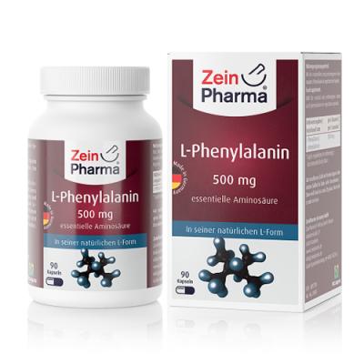 L- fenilalanina 500 mg