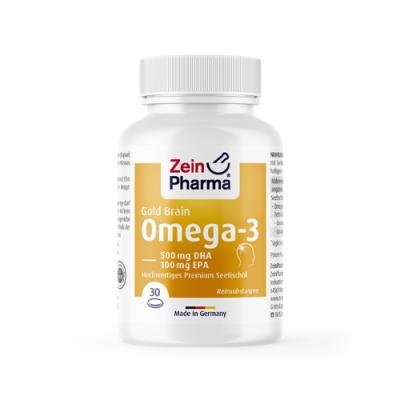 Omega 3 Gold - cervello
